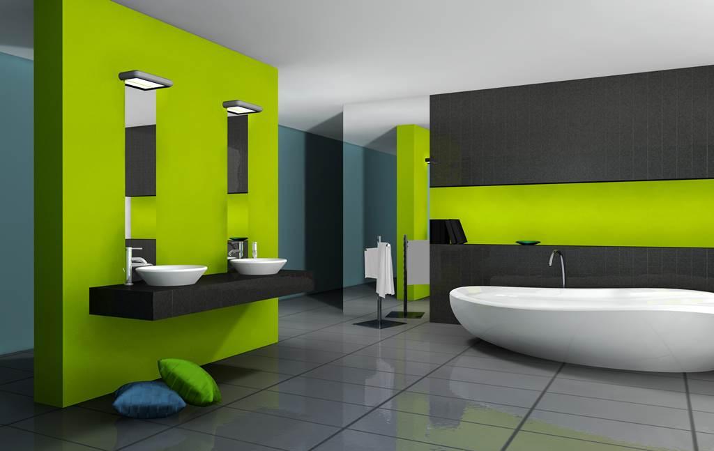 Porady ciany jak malowane ceramika nowa lubin for Salle de bain vert d eau
